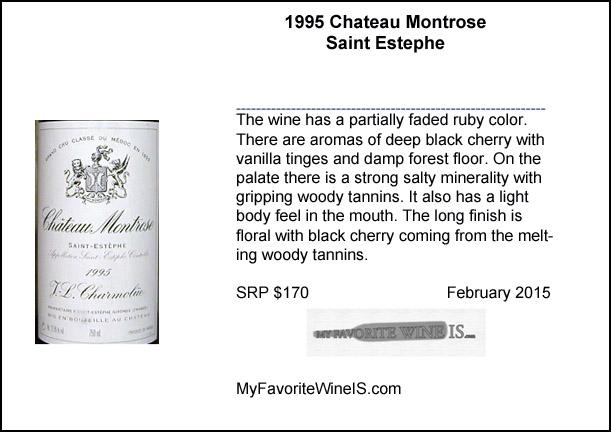 1995 Chateau Montrose