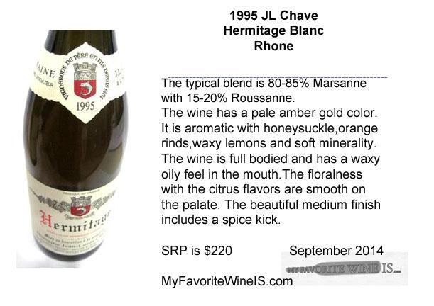 1995 JL Chave Hermitage Blanc