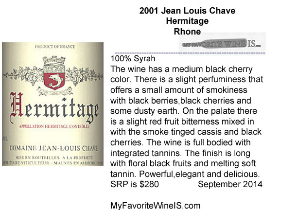 2001 Hermitage JL Chave
