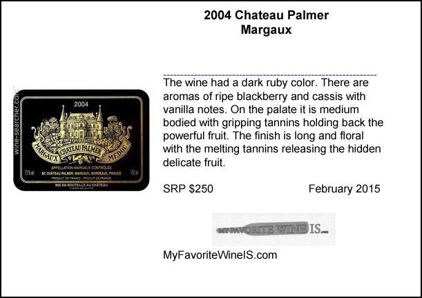 2004 Chateau Palmer