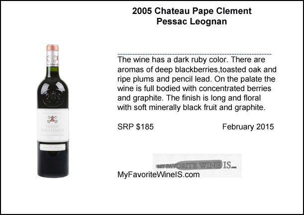 2005 Pape Clement