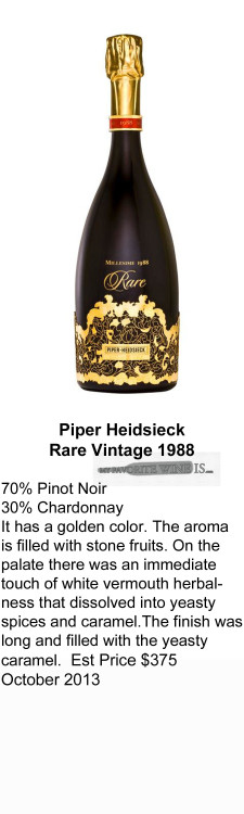 1988 Piper Heidsieck Rare Vintage 1988 for WEB