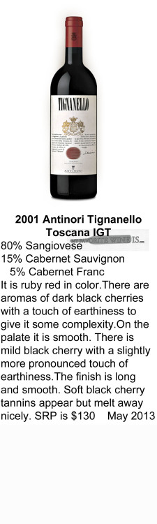 2001Antinori Tignanello IGT for WEB