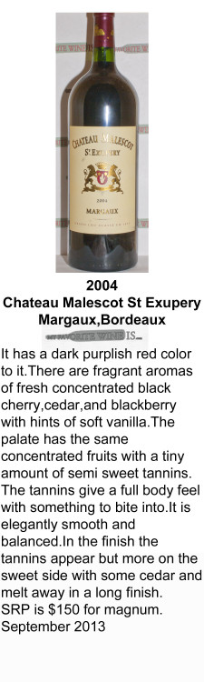 2004 Chateau Malescot St Exupery for WEB