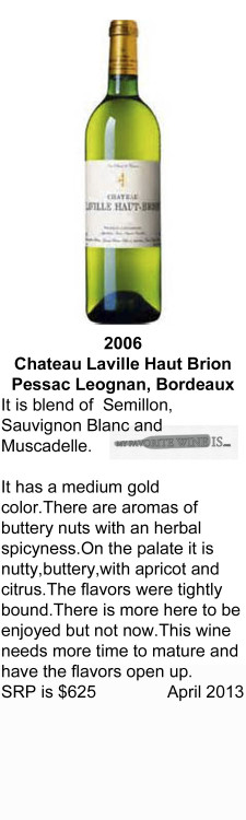 2006 Chateau Laville Haut Brion for WEB