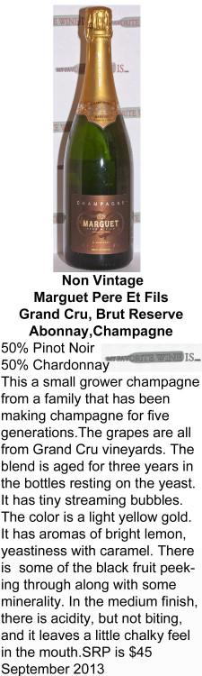 NV Marguet Champagne for WEB