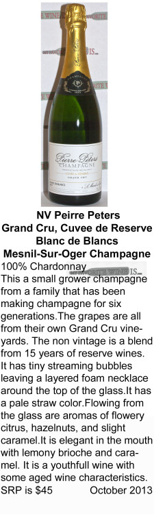 NV Pierre Peters Champagne for WEB