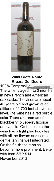 2009 Creta Roble for WEB