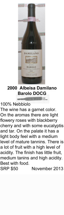2000 Damilano Barolo for WEB
