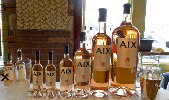 AIX Rose Wine for Valentine's Day