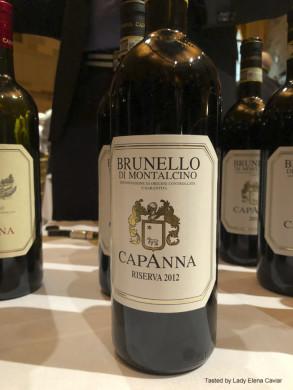 Capanna 2012 Brunello Di Montalcino Reserva