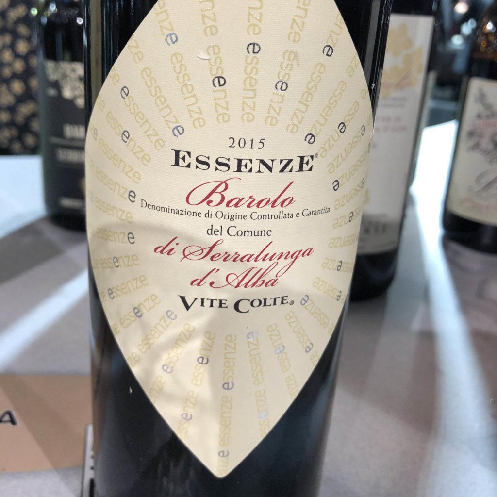 Essenze 2015 Barolo di Serralunga d Alba Vite Colte