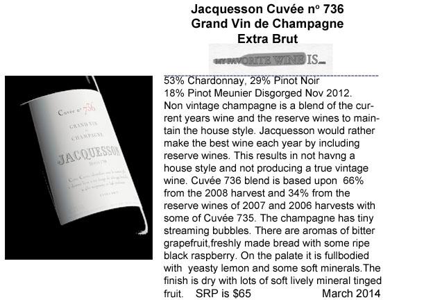 Jacquesson Cuvée 736