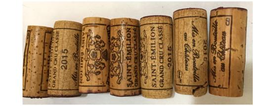 215 St Emilion wine corks